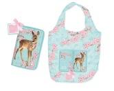 Myrna Falttasche - Einkaufstasche: Bambi - mit Pocket Tasche