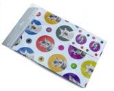 SchnäppchenGeschenkpapier + Anhänger: Katze lachen - Happy Cat