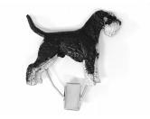 Hundeausstellungs-Startnummern-Clip: Airedale Terrier -brindle-