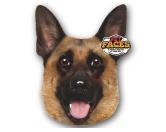 NeuheitenPet Faces Kissen Hund: Deutscher Schäferhund -50 cm-