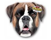 NeuheitenPet Faces Kissen Hund: Boxer -50 cm-