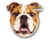 NeuheitenPet Faces Kissen Hund: Englische Bulldogge -50 cm-