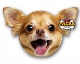 Pet Faces Kissen Hund: Chihuahua -50 cm-