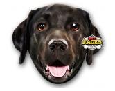 Für MenschenWeihnachtsmarktPet Faces Kissen Hund: Black Labrador -50 cm-