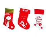 WeihnachtenNikolaus Stiefel mit Katzenmotiv -sortiert-