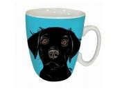 Taschen & RucksäckeCanvas Tasche HunderasseHunde Motiv Tasse: Labrador schwarz