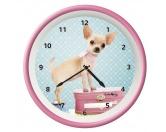 Aufkleber & TafelnWanduhr Hund: Chihuahua Welpe