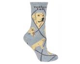 Taschen & RucksäckeBaumwolltaschenHunde Rasse Socken: Labrador yellow -grau-