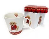 Für MenschenWeihnachtsmarktHunde Motiv Tasse: Monty - Labrador