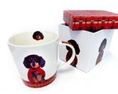 Für MenschenNostalgische GeschenkartikelHunde Motiv Tasse: Arthur - Dackel