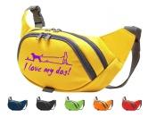 Taschen & RucksäckeTurnbeutelHundesport Bauchtasche Fun: I love my Dog