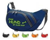 Bekleidung & AccessoiresHausschuhe & PantoffelnHundesport Bauchtasche Fun: Ohne Hund ist alles doof