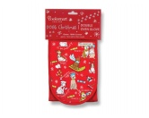 WeihnachtenHunde Doppel Ofenhandschuh: Dogs Christmas - Weihnachten
