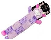 Spielzeuge für HundeHunde Plüsch Knister Spielzeug: Pig -60 cm- mit Squeaker