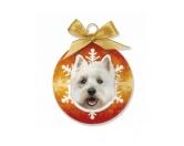 WeihnachtenHunde Weihnachtsbaum Kugel: West Highland Terrier