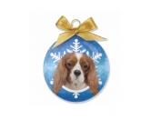 WeihnachtenHunde Weihnachtsbaum Kugel: Cavalier King Charles