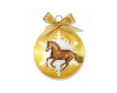 WeihnachtenWeihnachtsbaum Kugel: Pferd