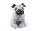 Selbstklebende KreidetafelnHundePuggles Der Mops - Türstopper Hund