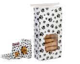 Geschenk-VerpackungenLeckerlie Beutel mit Verschluß: Pfoten -1000 ml-