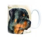 Schmuck & AccessoiresHunderassen Schmuck AnhängerHunde Motiv Tasse: Rottweiler -Sepia-