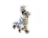 Hunderassen Schmuck AnhängerSchmuck - Anhänger: Shiba Inu -925er Sterling Silber