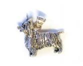 Schmuck & AccessoiresHunderassen Schmuck AnhängerSchmuck - Anhänger: Silky Terrier -925er Sterling Silber
