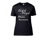 Backformen & ZubehörVerpackungenHundespruch T-Shirt: Engel haben Pfoten