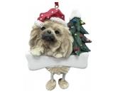 SchnäppchenWeihnachtsbaum-Schmuck-Anhänger: Pekinese 2