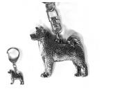 Bekleidung & AccessoiresHundesportwesten mit Hundemotiven inkl. Rückentasche MIL-TEC ®Design Hunderasse Schlüsselanhänger -Akita-