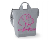 T-ShirtsHunderassen T-ShirtsCanvas Shopper: Beagle