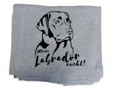 Hunderassen KollektionenLabrador Fan KollektionFleece Schmusedecke -Labrador- 127 x 150 cm