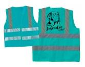 Hundesport Warnweste: Labrador