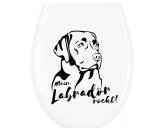 Bekleidung & AccessoiresHunderassen T-ShirtsWC Aufkleber: Labrador