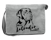 Socken mit TiermotivSocken mit HundemotivCanvas Messenger Tasche: Labrador
