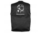Mil-Tec Hundesport Outdoor-Weste mit Dummytasche: Labrador