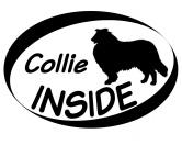 Tiermotiv TassenTassen HunderassenInside Aufkleber: Collie