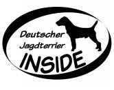 Bekleidung & AccessoiresHundesportwesten mit Hundemotiven inkl. Rückentasche MIL-TEC ®Inside Aufkleber: Deutscher Jagdterrier 1