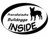 Leben & WohnenTürstopper & ZugluftstopperInside Aufkleber: Französische Bulldogge