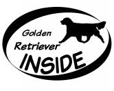 RestpostenInside Aufkleber: Golden Retriever