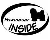 Bekleidung & AccessoiresHundesportwesten mit Hundesprüchen inkl. Rückentasche MIL-TEC ®Inside Aufkleber: Havaneser 1