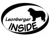 Bekleidung & AccessoiresHundesportwesten mit Hundemotiven inkl. Rückentasche MIL-TEC ®Inside Aufkleber: Leonberger 1