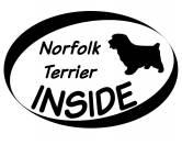 Schmuck & AccessoiresHunderassen Schmuck AnhängerInside Aufkleber: Norfolk Terrier 1