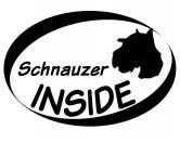 Fußmatten & LäuferFußmatten Hunderasse farbigInside Aufkleber: Schnauzer Kopf
