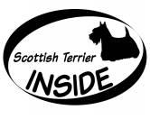 Schmuck & AccessoiresHunderassen Schmuck AnhängerInside Aufkleber: Scottish Terrier 1