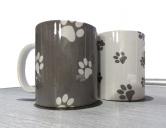 SchnäppchenDesign Tasse: Pfötchen -Einzelstück-