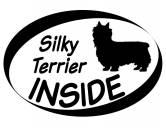 Schmuck & AccessoiresHunderassen Schmuck AnhängerInside Aufkleber: Silky Terrier 1