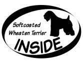 Socken mit TiermotivSocken mit HundemotivInside Aufkleber: Softcoated Wheaten Terrier 1