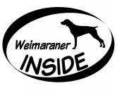 Bekleidung & AccessoiresHundesportwesten mit Hundemotiven inkl. Rückentasche MIL-TEC ®Inside Aufkleber: Weimaraner 1