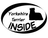Taschen & RucksäckeGeldbörsen & HandytaschenInside Aufkleber: Yorkshire Terrier 1