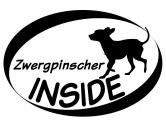 Bekleidung & AccessoiresHundesportwesten mit Hundemotiven inkl. Rückentasche MIL-TEC ®Inside Aufkleber: Zwergpinscher